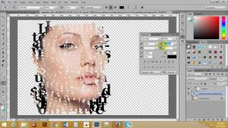 how to use typographic  Photoshop Bangla tutorial