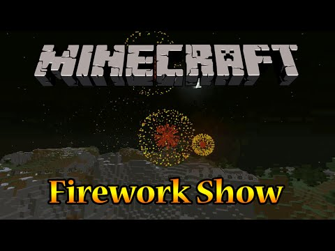 how to change firework color in minecraft