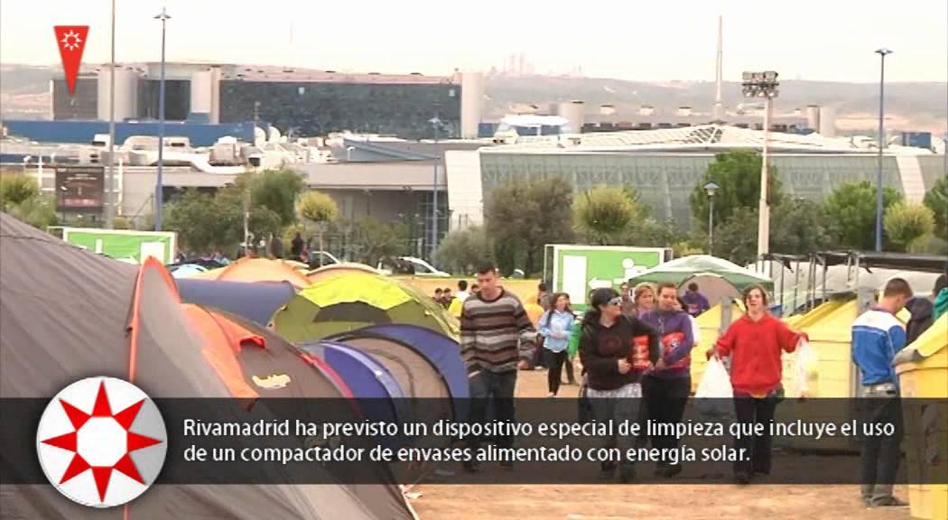Acampada festival 39 en vivo 39 en rivas vaciamadrid youtube - Muebles anticrisis en rivas vaciamadrid ...