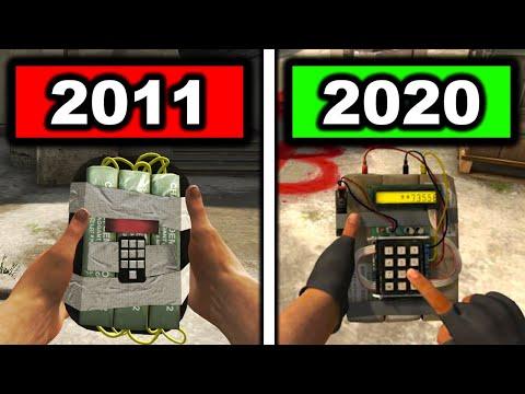 ВСЕ Изменения кс го 2011 и 2020 года (Оружия, анимации и тд)