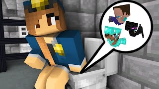 Monster School : TINY MONSTERS PRISON ESCAPE 2 - Minecraft Animation