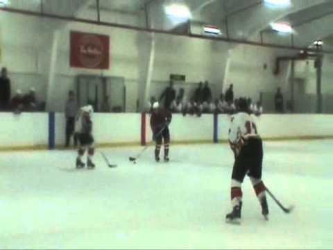 Goal #1 by Brandon Parson MidgetAAACanad Sept25th2010 1stLGvsStJ.wmv