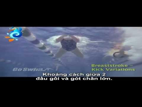 Các kiểu đạp chân trong bơi ếch