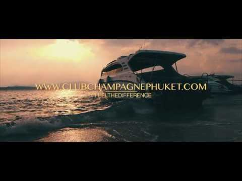 Feelthedifference Club Champagne Phuket Speedboat Trip Phi Phi Islands James Bond