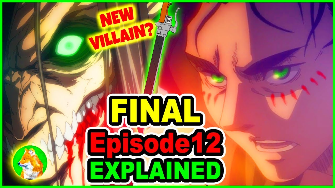 Eren Turns Villain & Hero? Eren Yeagerist Explained | Attack on Titan Season 4 Episode 12