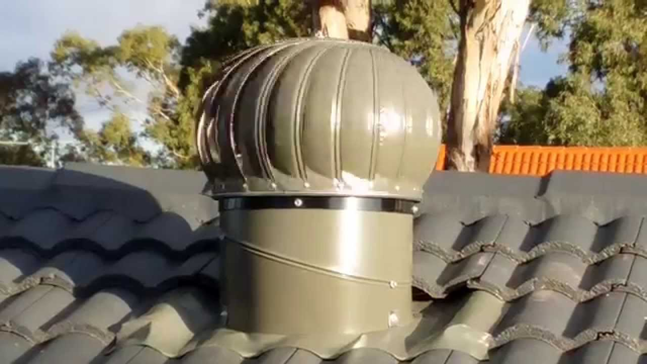 Slate Whirlybird Vents On Roof   No Wind   YouTube