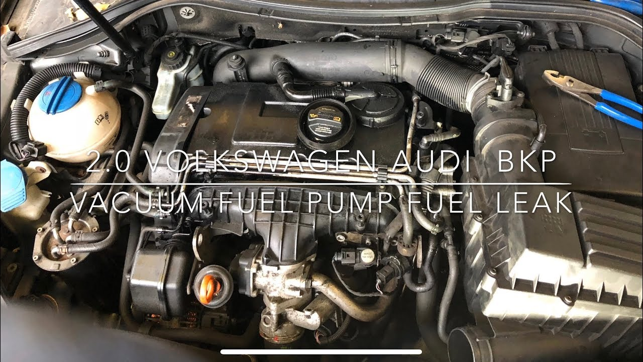 volkswagen passat bkp pd how to replace vacuum fuel pump gasket (2006) -  youtube  youtube