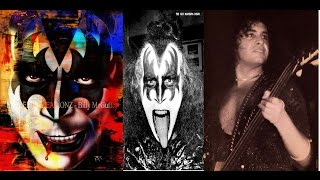 KISS GENE SIMMONS man of 1000 faces