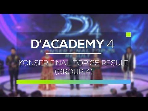 Highlight D'Academy 4 - Konser Final Top 25 Result (Group 4)