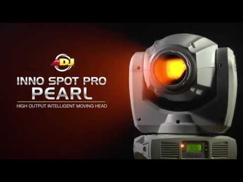 ADJ Inno Spot PRO Pearl LED Moving Head Fixture Overview | Full Compass