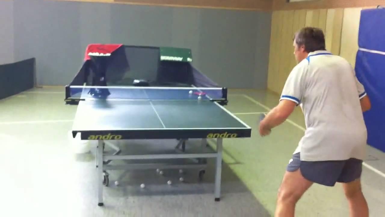tt buddy tischtennis roboter sv menzelen mit ingo + thorsten