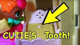 LOL SURPRISE DOLLS Cutie Loses Her Tooth And Gets A Visit From The TOOTHFAIRY!