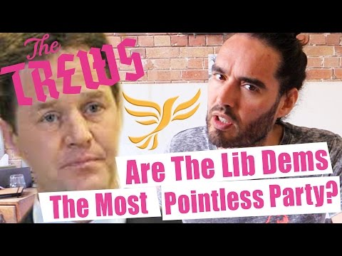 Are The Lib Dems The Most Pointless Party? Russell Brand The Trews (E307)