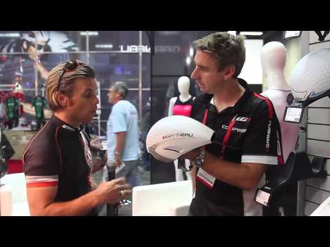 Interbike 2013 - New Garneau P-09 Helmet at Interbike