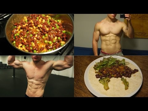 VEGAN BODYBUILDING   120g+ PROTEIN PACKED MEAL IDEA