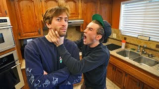 IGNORING brother for 24HOURS prank! *He hates me*