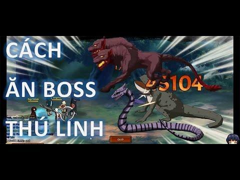Cửu Vĩ Naruto Online - Cách Ăn Boss Thú Linh