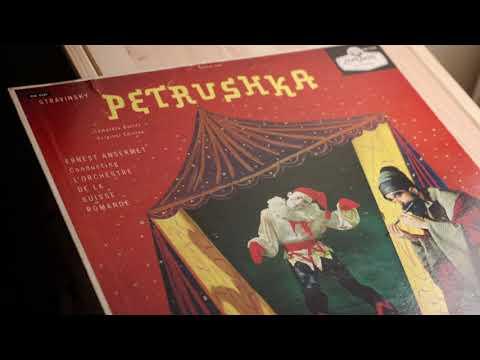 Stravinsky Petrushka L'Orchester de la Suisse Romande Ernest Ansermet 1958
