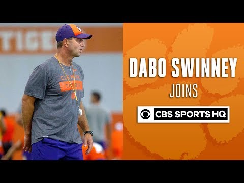 """""""Trevor Lawrence is a lot stronger"""" - Dabo Swinney   CBS Sports HQ"""