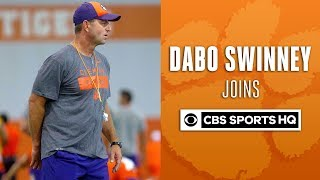 """Trevor Lawrence is a lot stronger"" - Dabo Swinney 