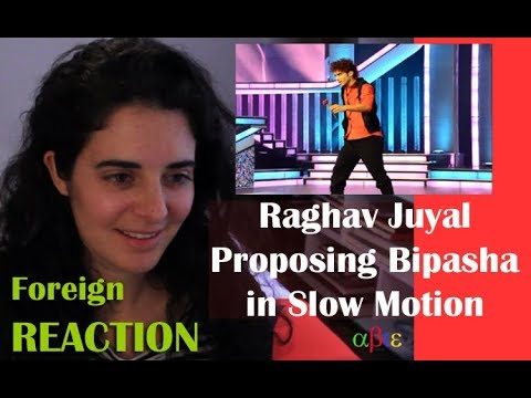 Raghav Proposing In Slow Motion | Reaction By Spanish Accent Lady