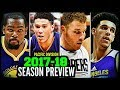 2017-18 NBA Season Preview: Pacific Division: Lakers * Clippers * Warriors * Suns * Kings