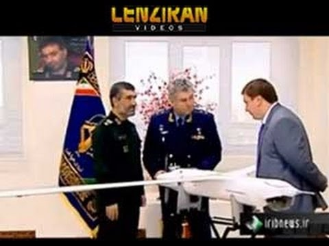 Revolutionary Guard commander gift to Russian Air Force commander : Iranian made US Drone !