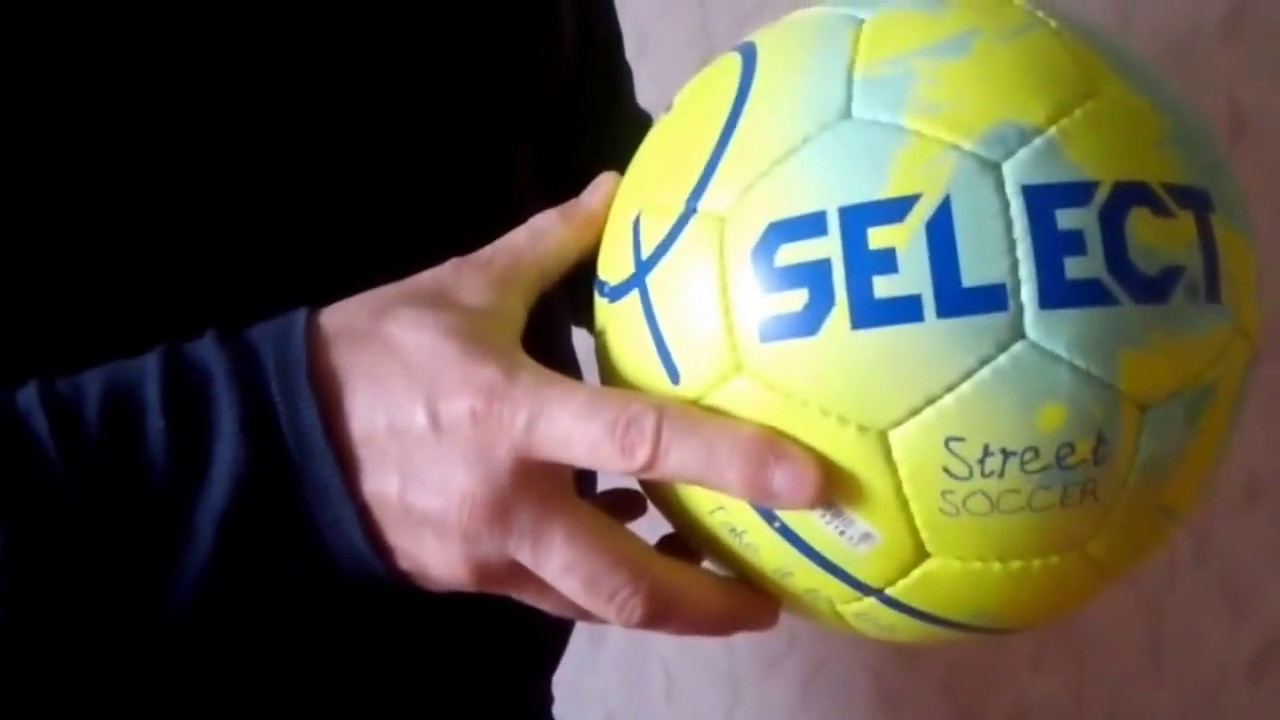 Мяч футбольный Select Team size 4 - YouTube