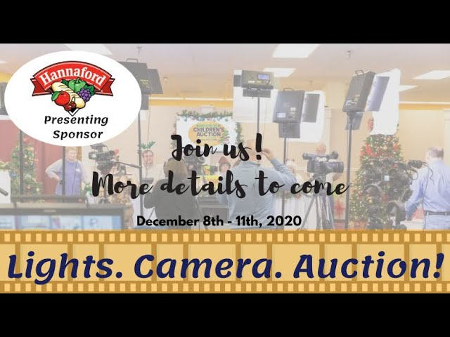 Proud to have Hannaford as our 2020 Children's Auction Presenting Sponsor