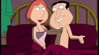 Repeat youtube video Family Guy - Quagmire and Lois in bed