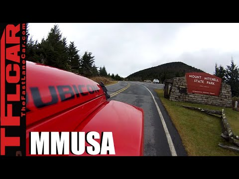 Mount Mitchell in North Carolina on MMUSA: We Summit the Highest Mountain East of the Mississippi