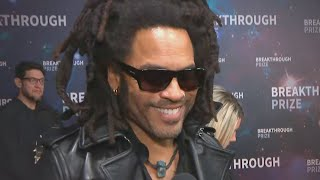 Lenny Kravitz Is 'Very Excited' to See Daughter Zoe Play Catwoman (Exclusive)