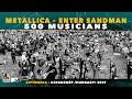 Metallica - Enter Sandman - 500 Hungarian musicians - Cityrocks Hungary - Kecskemét 2019