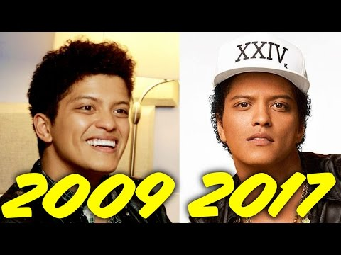 The Evolution of Bruno Mars 20092017