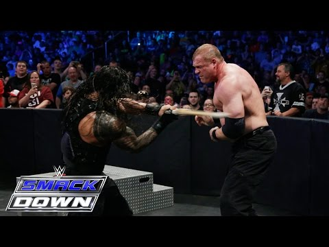 Roman Reigns vs. Kane: SmackDown, May 14, 2015 thumbnail