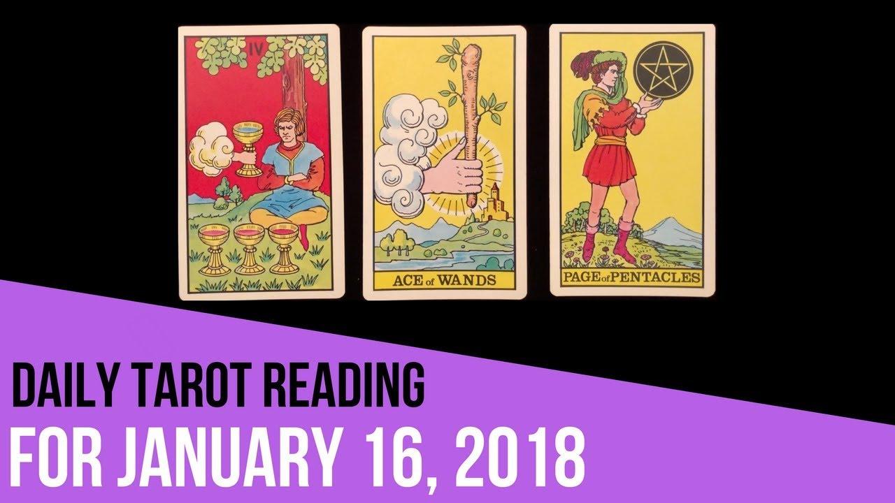 january 16 tarot