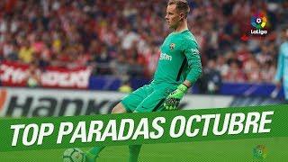 TOP Saves October LaLiga Santander 20172018