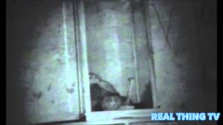 Creepy haunted puppet moving on its own inside a sealed glass container in the middle of the night