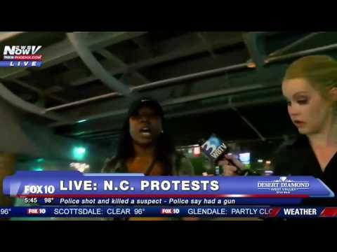 FULL FNN COVERAGE Charlotte North Carolina Protest Rally TURNS DEADLY