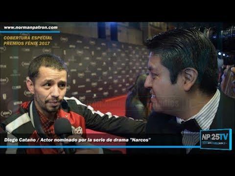 Premios Fénix 2017 Diego Cataño Actor nominado por la serie Narcos NP25TV