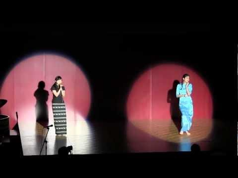 GRIPS Culture Day - Myanmar Thingyan Dance (Thingyan Moe)