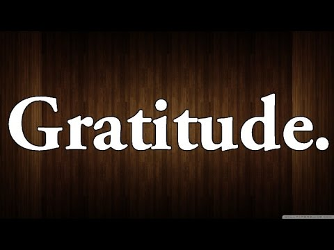 The Extraordinary Power Of Gratitude! (Law Of Attraction)