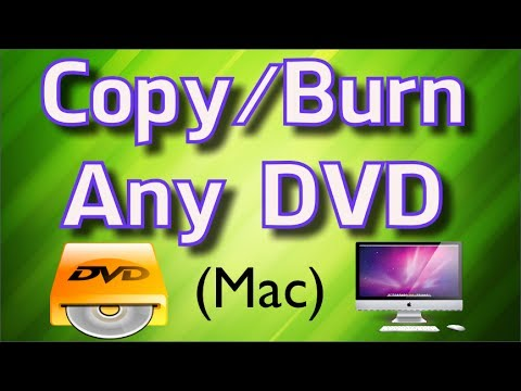 how to burn a video dvd on a macbook pro