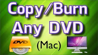 How to Copy a DVD on a Mac - Clone & Burn Any DVD