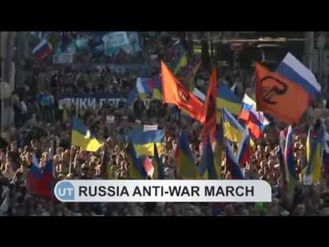 Russian Anti-War March: Tens of thousands in Moscow protest Kremlin's secret war in Ukraine