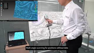 3D Scannig Artworks -  Carving. Used by  iReal 2S 3D Scanner.