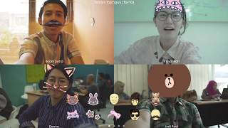 LINE Tutorial: Cara Menggunakan Video Call Filter