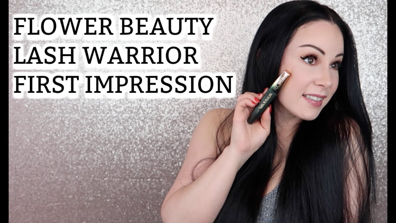 Flower beauty lash warrior mascara review youtube flower beauty lash warrior mascara review izmirmasajfo