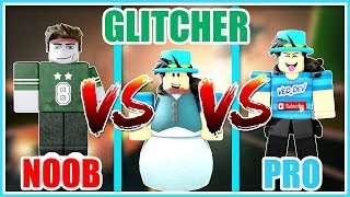 NOOB vs GLITCHER vs PRO [Roblox Jailbreak Edition]