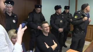 Навальный после четырех суток ареста